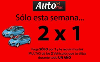Autoplus recurre 2x1 multas