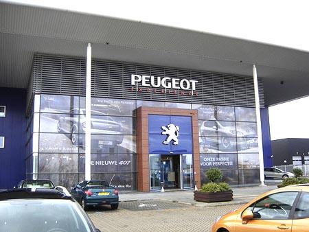 Concesionario de Peugeot