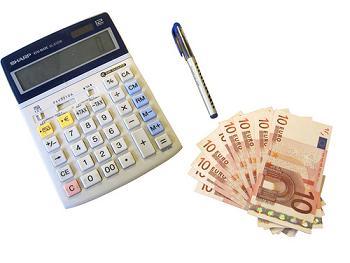 Dinero y Calculadora