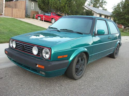 Volkswagen golf antiguo